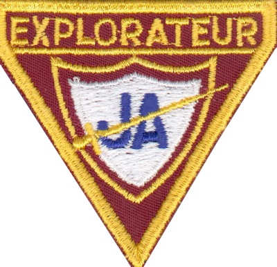 Badge engagement explorateur